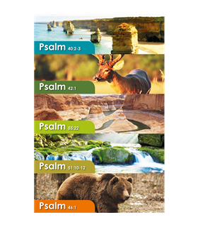Psalm Bookmarks (10 PK)