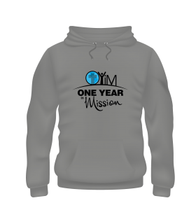 One Year in Mission Hoodies