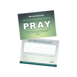 Prayer Request Cards (25 PK)