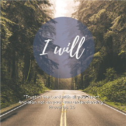 I Will Greeting Cards