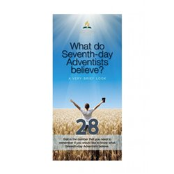 What Seventh-day Adventists Believe (25 PK)
