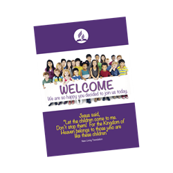 Children's Welcome SDA Folder (5 PK)